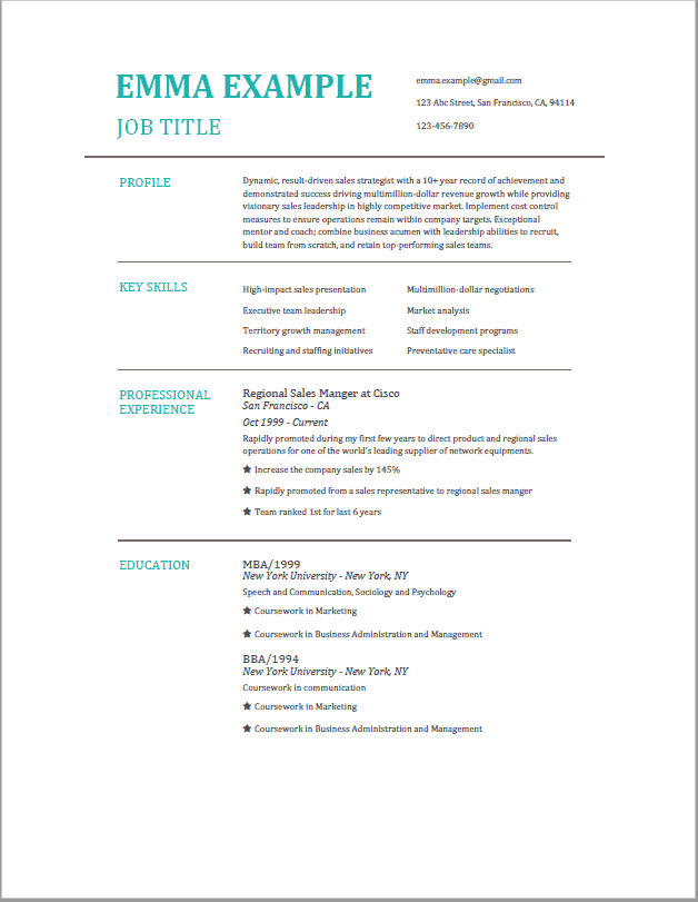 Resume With No Work Experience | Fresher Resume | BuildFreeResume